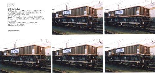 Märklin 48431 H0 set of 5 mineral wagons of the VTG