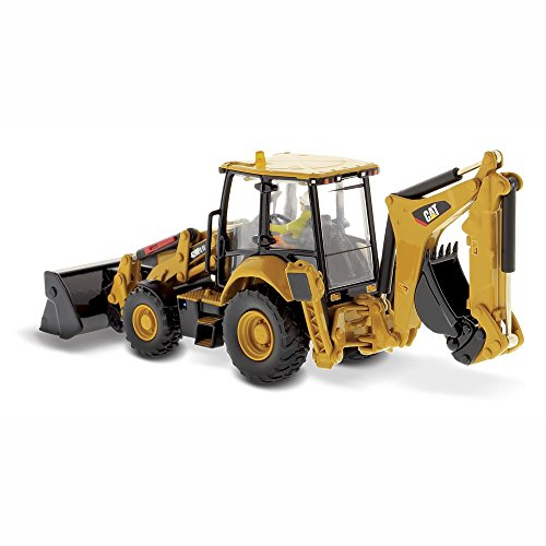 CAT Caterpillar 420F2 IT Backhoe Loader High Line Series with Operator 1/50 by Diecast Masters 85233