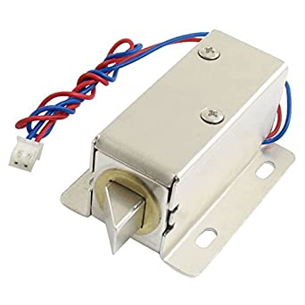 0837l dc 12v 8w open frame type solenoid for electric door