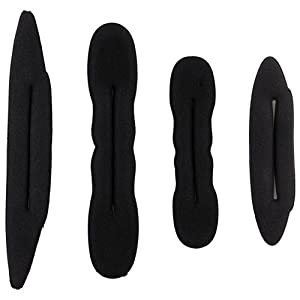 4 Magic Foam Sponge Hair Styling Bun Maker Twist Tool