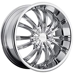 Cruiser Alloy Shadow 17×7.5 Chrome Wheel / Rim 5×4.25 & 5×4.5 with a 38mm Offset and a 73.00 Hub Bore. Partnumber 912C-7751438