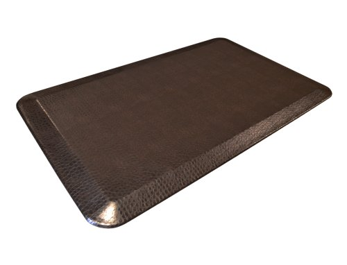 GelPro Designer Comfort Mat Pebble 20 by 32-Inch (Espresso)