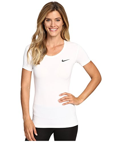 Nike Pro Cool Ss Top Bianco M
