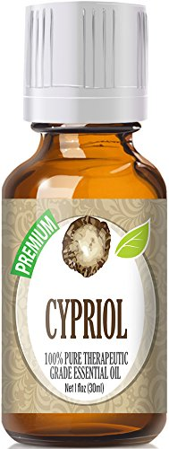 Cypriol (30ml) 100% Pure, Best Therapeutic Grade Essential Oil - 30ml / 1 (oz) Ounces