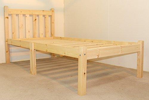 Unique single beds Heavy Duty ft single pine bed frame
