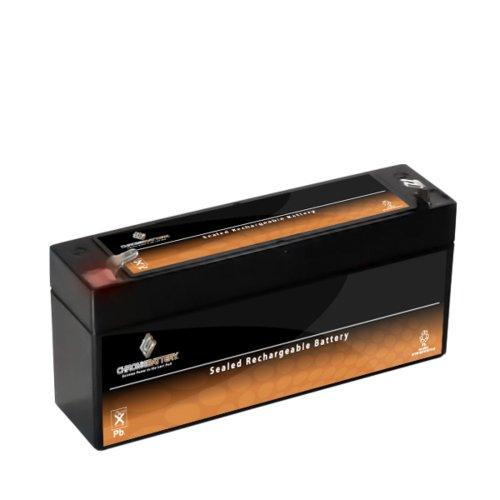 6V 1.3Ah Sealed Lead Acid (Sla) Battery For Ub613 Ps612 Mx06012 Es1.2-6 Sla0864