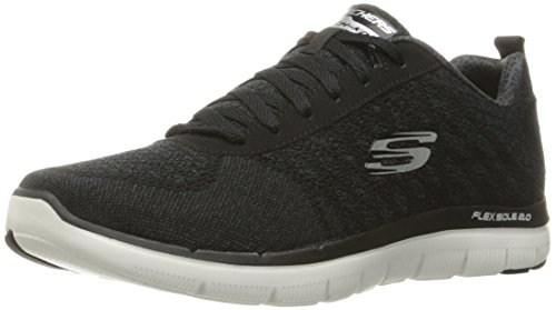 skechers-flex-advantage-20-golden-point-sneaker-da-uomo-colore-nero-bkw-taglia-43-eu-9-uk