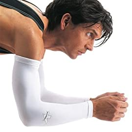 Assos 2013/14 Arm Protectors UV/Chill Protector Arm Warmers - White - P13.80.803.50