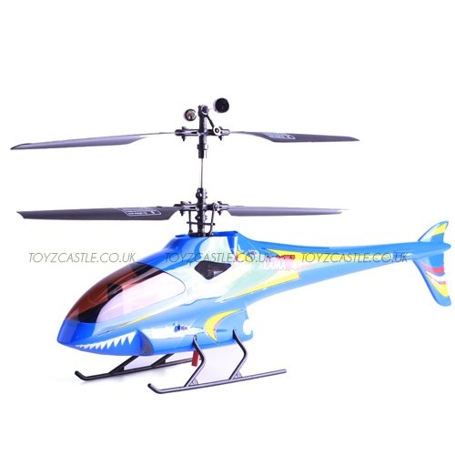 E-sky Esky 2010 New Lama V3 V4 Blue 000009 2.4GHz Rc Helicopter