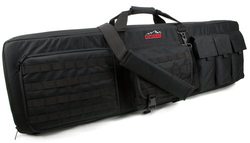 Details for Large 3 Gun Soft Carry Case With Shooting Mat - Holds Up To 45 Inch Rifle by Explorer