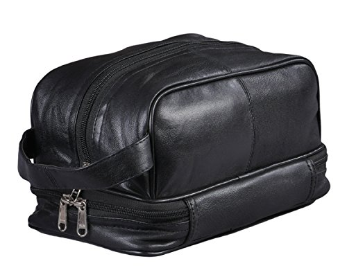 Mens Toiletry Bag Shaving Dopp Case For Travel (Wet Brush Mini Pack compare prices)