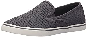 Lauren Ralph Lauren Women's Janis Fashion Sneaker, Grey Woven, 6.5 B US