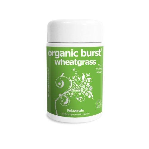 Organic Burst Wheatgrass Powder 60G