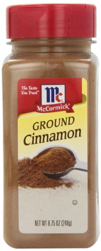 McCormick Cinnamon, Ground, 8.75-Ounce Unit