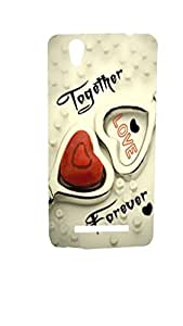 Mintzz Printed Back Cover For Gionee F103 Pro