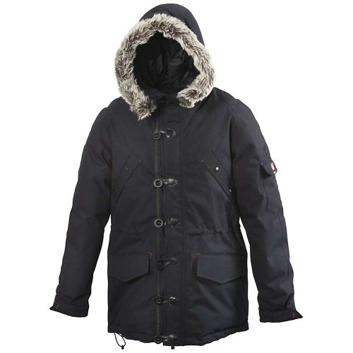 66 North Men'S Snaefell Down Parka Jacket, Dark Blue A490, Large