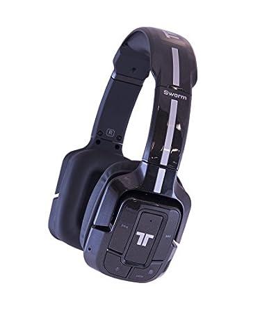 Mad Catz - Auricular Tritton Swarm Bluetooth, Color Negro Metalizado