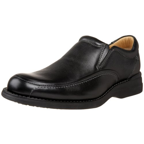 Johnston & Murphy Men's Shuler Side Gore Slip On,Black,9.5 M US
