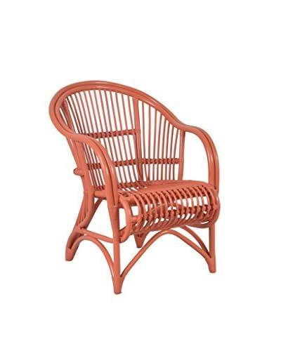 Jeffan Playa Dining Chair, Orange