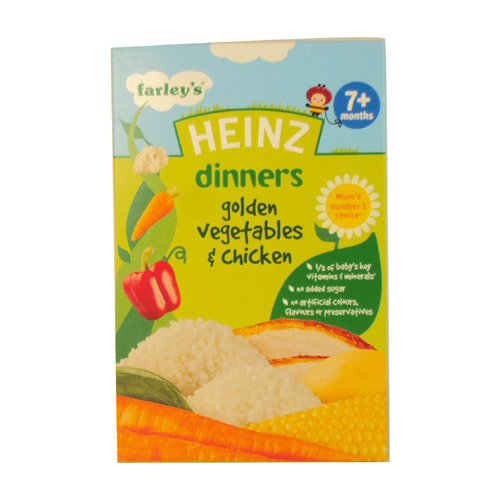 Heinz 7 Month Golden Vegetable & Chicken Packet 100g