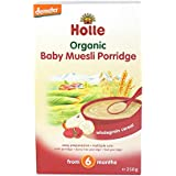 Holle Organic Baby Porridges - Baby Muesli - Single Carton, 250g