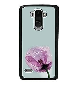 Pink Flower 2D Hard Polycarbonate Designer Back Case Cover for LG G4 Stylus