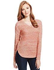 M&S Collection Twisted Knit Jumper