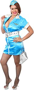 Plus Size Sexy Flight Attendant Halloween Costume