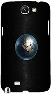 Timpax protective Armor Hard Bumper Back Case Cover. Multicolor printed on 3 Dimensional case with latest & finest graphic design art. Compatible with Samsung Galaxy Note II N7100 Design No : TDZ-26200