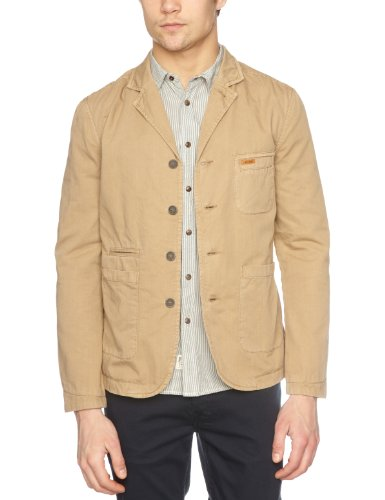 Firetrap Comission Men's Jacket Tan X-Large