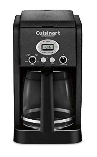 Cuisinart DCC-2650BW 12 Cup Brew Central Programmable Coffeemaker, Black Wrinkle (Cuisinart Extreme Coffee Maker compare prices)