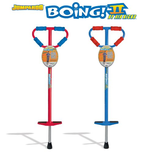 GeoSpace Set of 2 Large JUMPAROO BOING! II Pogo Sticks - One Red & One Blue (86-160 Lbs.) at Sears.com