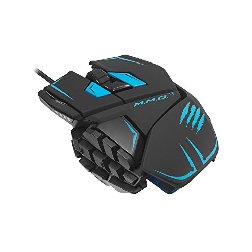 Mad Catz M.M.O.TE Gaming Maus (bis 8200dpi, 4 DPI-Level) f�r PC und Mac matt