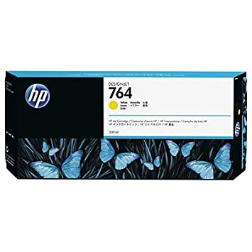 1 x Cartouche d'encre d'origine hP 764 hP764 c1Q15A jaune pour hP designjet t 3500 e mFP-capacité: env. 300 ml