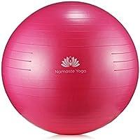 Namaste Yoga Ball (Pink)