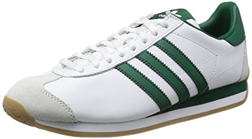 [アディダス オリジナルス] Adidas Originals CNTRY OG IB722 RUNNING WHT/CGREEN/GUM4(ランニングホワイト/カレッジエイトグリーン/ガム4/US10)