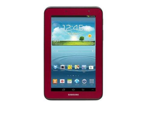 Samsung Factory Refurbished Galaxy Tab 2 (7-Inch, Wi-Fi, 8GB, Garnet Red) GT-P3113GRSXAR