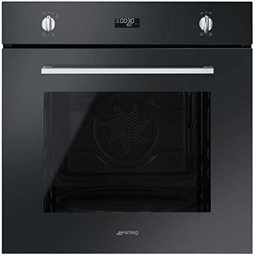 Smeg Cucina SFP485N Built In Electric Single Oven - Black. It Will Perfeclty Look Great Built Into Your Kitchen