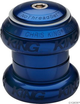 "King Nothreadset 1 1/8"" Navy Blue Sotto Voce"