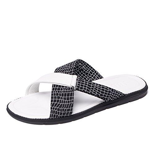 Les nouvelles sandales/sandales/Pantoufles de marée pour hommes/Tongs de l'été pour hommes/Chaussures en cuir pour hommes