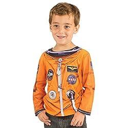 Toddler Astronaut Costume Longsleeve T-Shirt