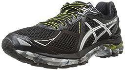ASICS Men\'s Gt-2000 3 Trail Running Shoe,Black/Lightning/Lime,10 M US