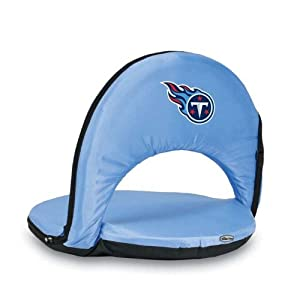 Oniva Reclining Beach Seat With NFL Football Team Logo by Picnic Time