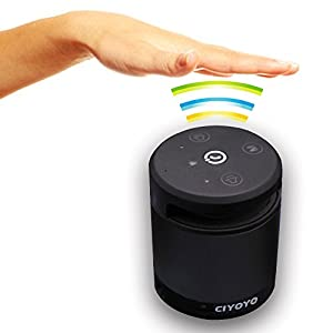 CIYOYO Smart Wireless Speaker Gesture-Control Portable Rechargeable Car Bluetooth Speaker for Apple Iphone Android Smart Phone Samsung HTC Blackberry from Shenzhen Yunmi Technology Co., Ltd.