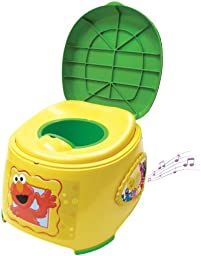 Ginsey Sesame Street 3-in-1 Potty Trainer with Sound
