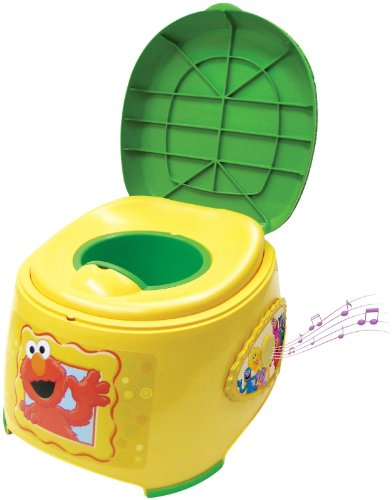 Ginsey Sesame Street 3-in-1 Potty Trainer with Sound - 1