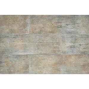 """Timber Glen 4"""" x 24"""" Rustic Field Tile in Thatch"""