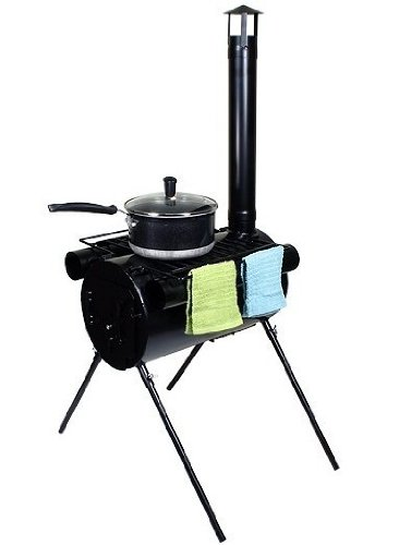 TMS STOVE-2346 Portable Military Camping Tent Steel Wood Stove at Sears.com