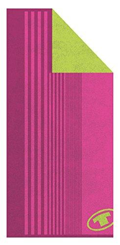 Tom Tailor Sport-telo doccia 70x 150cm, Spugna, Pink, 70 x 150 cm