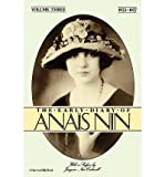 THE EARLY DIARY OF ANAIS NIN - Volume (3) (iii) Three: 1923 - 1927 (0151271844) by Nin, Anais